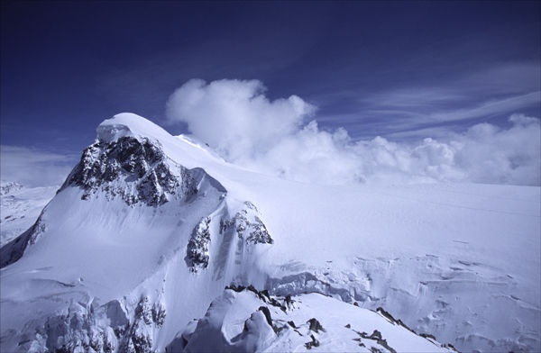 Breithorn, Swiss Alps.